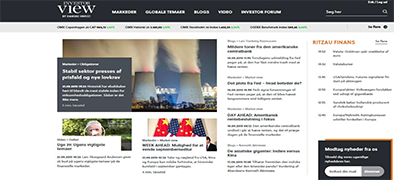 Investorview.dk - et nyt website fra Danske Invest om investering - News